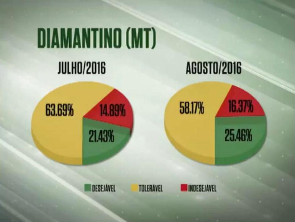 Diamantino em alta mantém números estáveis na MT/Sudoeste