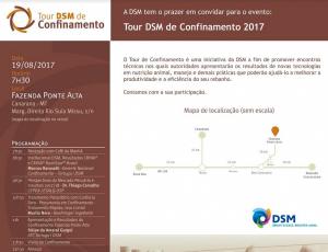 Canarana-MT recebe o segundo encontro do Tour DSM de Confinamento neste sábado, 19