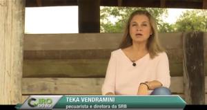 Teka Vendramini pede calma na vacinação e comenta novo plano de erradicação da aftosa