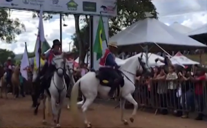 Cavalgada reúne 1.568 cavalos Mangalarga Marchador em Caxambu-MG
