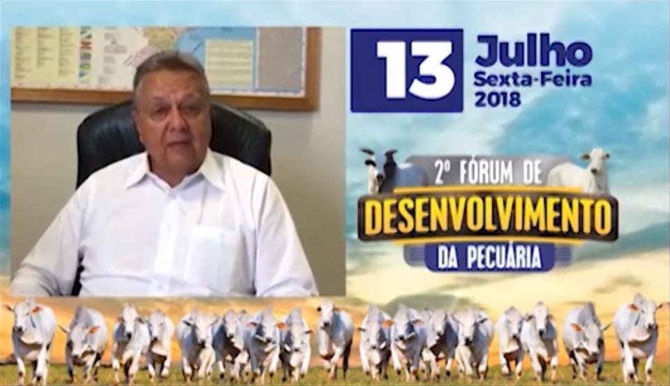 Ex-ministro Roberto Rodrigues convida pecuaristas para fórum em Colíder-MT