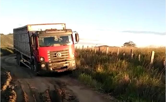 Abandono de estradas nas zonas rurais prejudica pecuaristas da Bahia